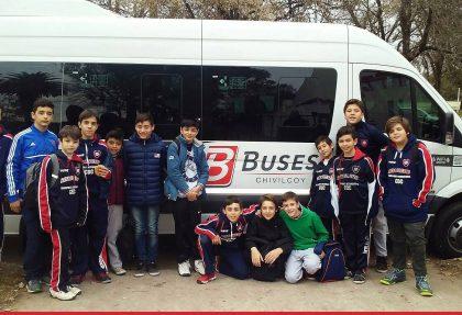 De viaje con los chicos del Club San Lorenzo